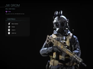 operator GROM w Call of Duty